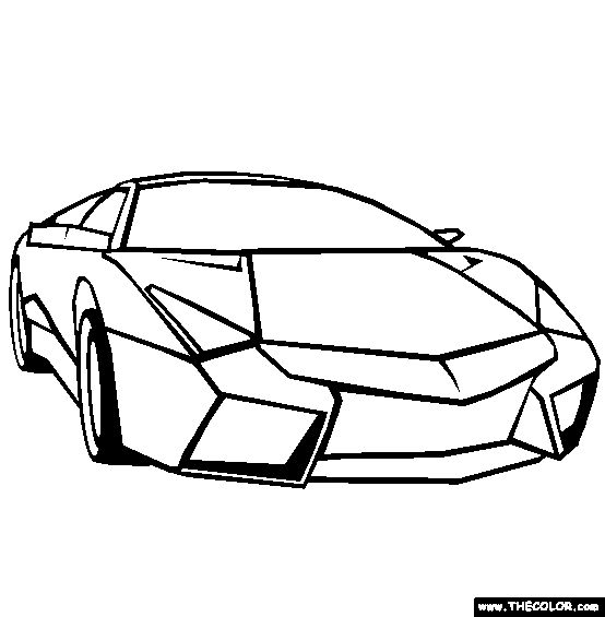 cool cars pictures to color  girlfriend cool car coloring