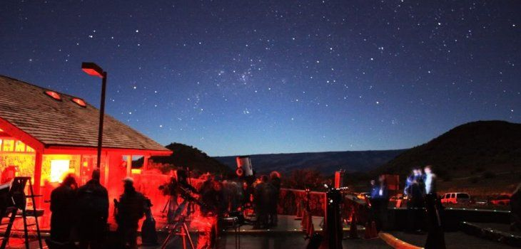 Star gazing program at Onizuka Center for International Astronomy