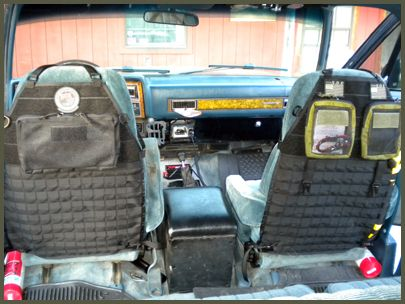 Original S.O.E. Gear modular seatback panel