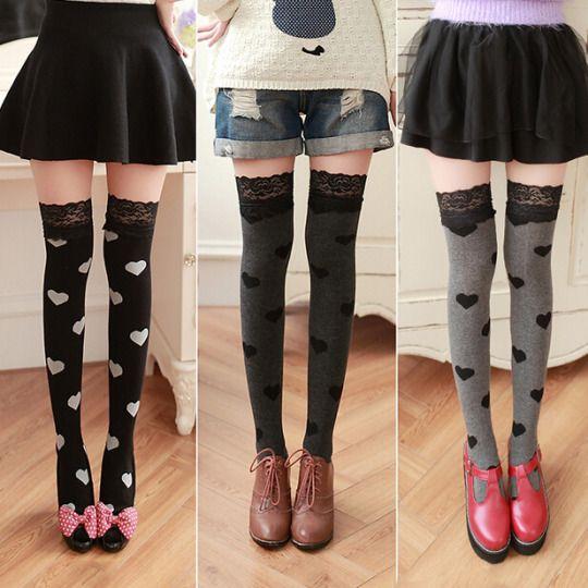 "Sweet love bud silk stockings $15.80 enter ""thingsfromjapan"" for 10% off http://thingsfromjapan.net/sweet-love-bud-silk-stockings/ #kawaii stockings #kawaii asian fashion #Japanese fashion"