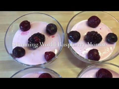 Slimming World 1/2 Syn Raspberry Mouse | Make It Mondays - YouTube