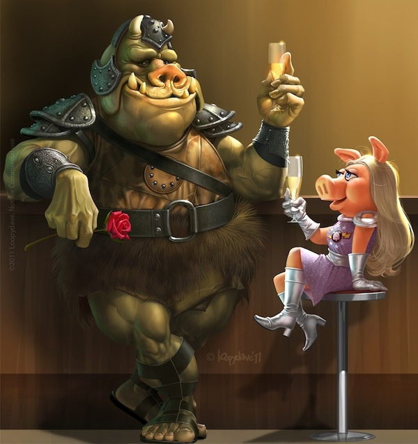 103 Best Images About The Muppets On Pinterest: Pigs In Space By Loopydave