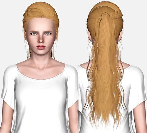 Skysims 188 hairstyle retextured by Pixelated Zombies for Sims 3 - Sims Hairs - http://simshairs.com/skysims-188-hairstyle-retextured-by-pixelated-zombies/