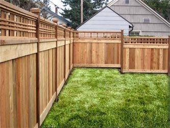 17 best images about fence ideas on pinterest fence for Craftsman style fence