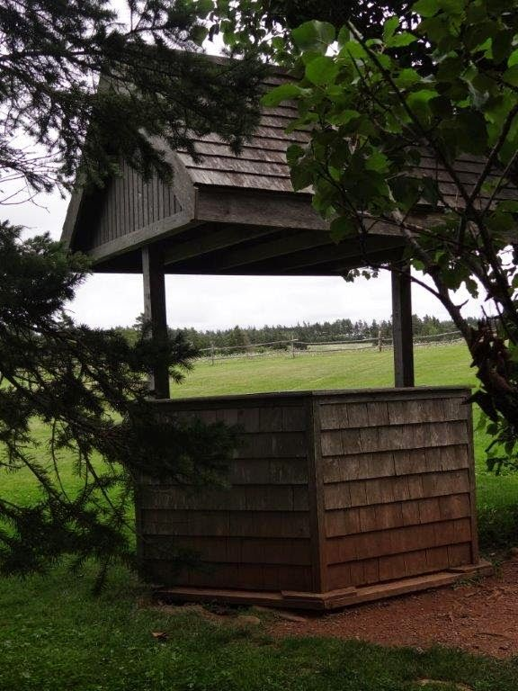 The well Lucy Maud Montgomery used to draw water from. LM Montgomery's Cavendish home site.