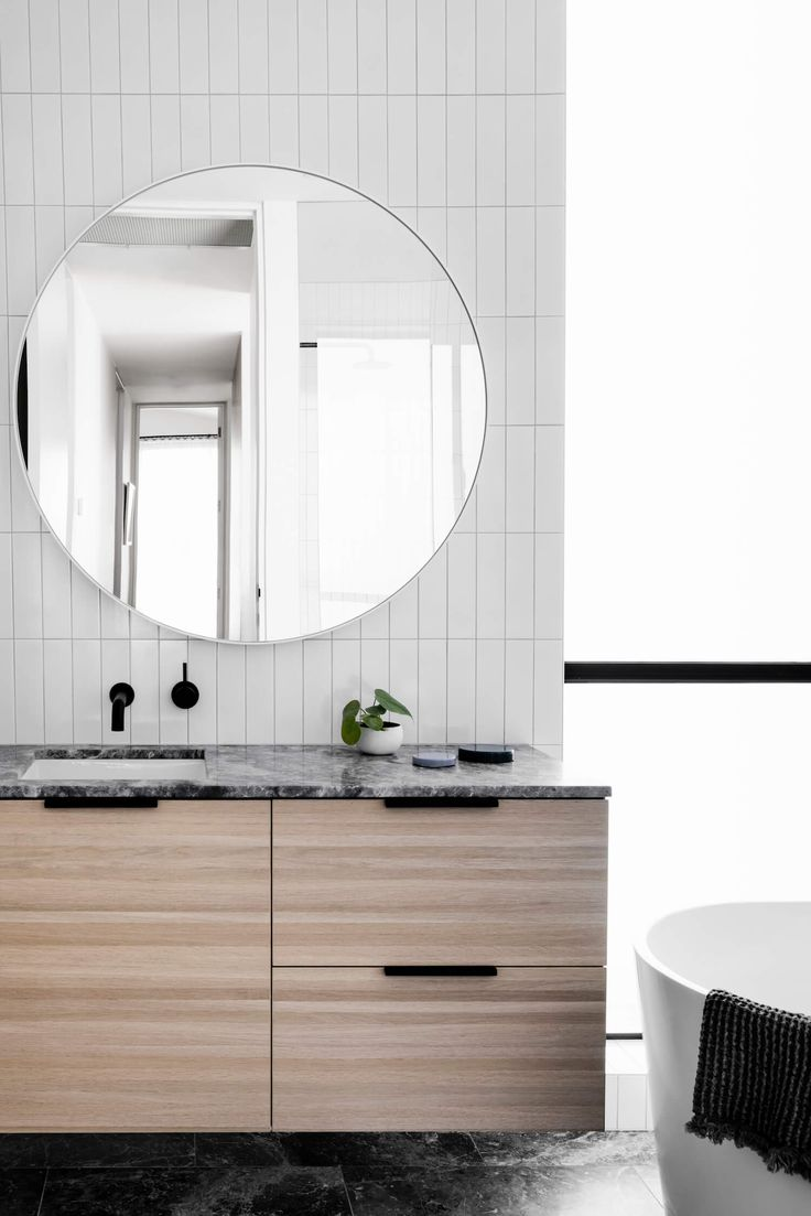 Bathroom | Bell Street Residence by Techne Architecture | est living