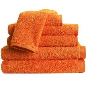 Essentials 6-Piece Towel Set (for Halloween I'd do a black and orange theme, actually for the whole fall season too)