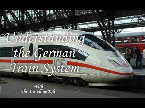 The Easy to Use German Trains: Frankfurt Airport to Cochem - YouTube