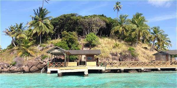 Cayo Cangrejo, en la isla de Providencia, es uno de los lugares más bellos de Colombia.