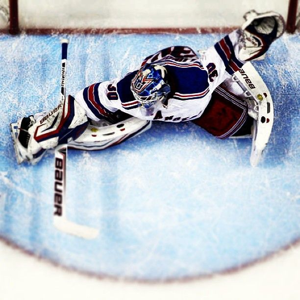 Henrik Lundqvist - 2013 Vezina Trophy finalist!  (although I think Bob gets it this year)....still luv ya Hank!