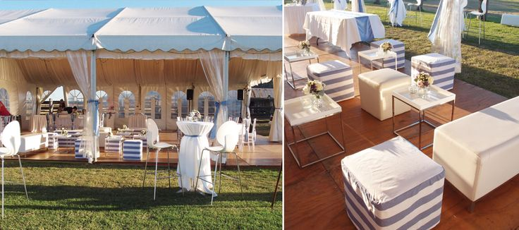 Cocktail Garden Wedding  Idea- for your wedding in Victoria! If you would like us to decorate your wedding- talk to us today! We have lots of wedding decorations for hire! We have cocktail furniture and Marquees!  www.allaboutvenue... #geelongwedding #vintageweddingdecorations #rusticweddings # marqueewedding #gardenweddingideas