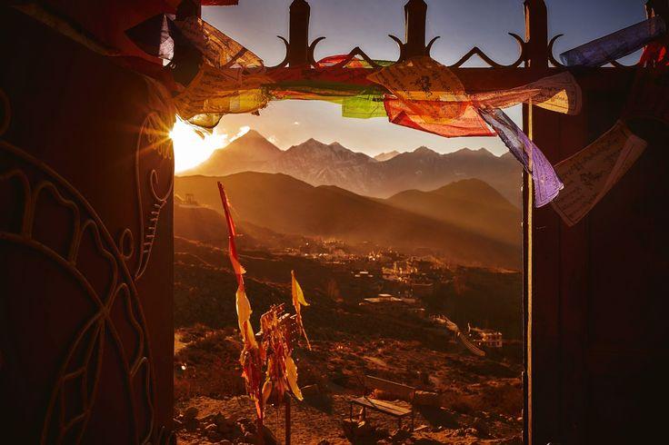 Gate to Himalayas - Muktinath, Nepal, 2016