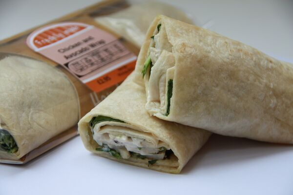 Are you on the go? Need a quick filling lunch? Our Chicken & Avocado wraps will keep you going until dinner! http://bit.ly/1JdlBOa