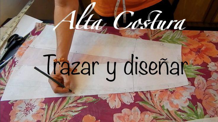 Alta Costura Clase 47B, Falda Vuelo Natural Trasero y final - YouTube