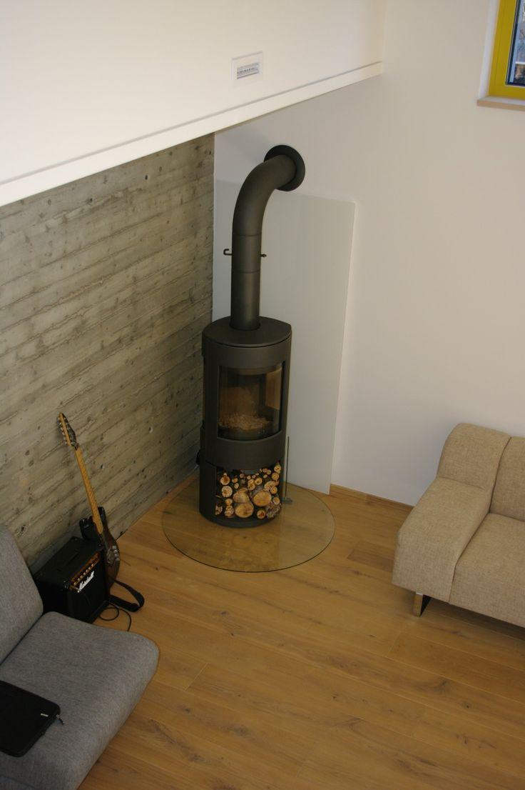 Energy efficient house in Vilnius Lithuania.