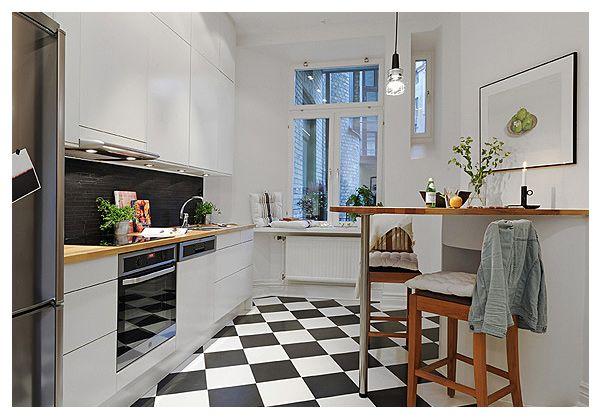 NordDeco: Małe mieszkanie w wielkim stylu..