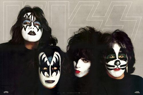 kiss on tour 2000 | Kiss, Dynasty + poster, US, Deleted, vinyl LP album (LP record ...