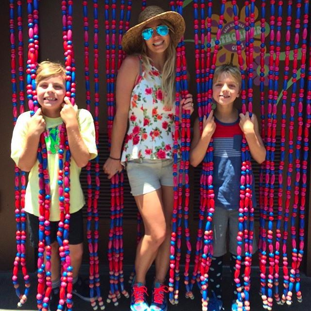 Britney Spears Adorably Re-Creates Her Oops! Album Cover With Her 2 Sons