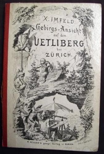 1876 Xav(er) Imfeld - Panorama vom Üetliberg bei Stadt Zürich 198 x 18 cm…