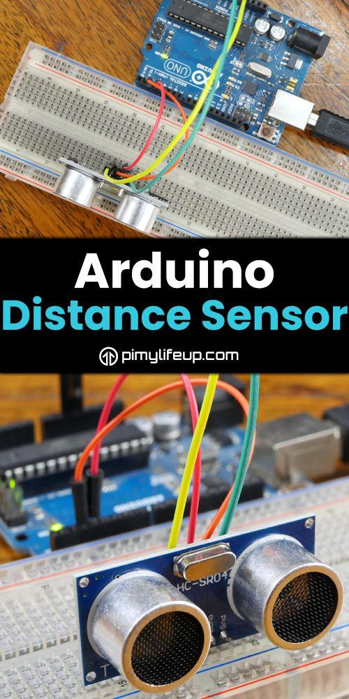 Arduino Distance Sensor using the HC-SR04