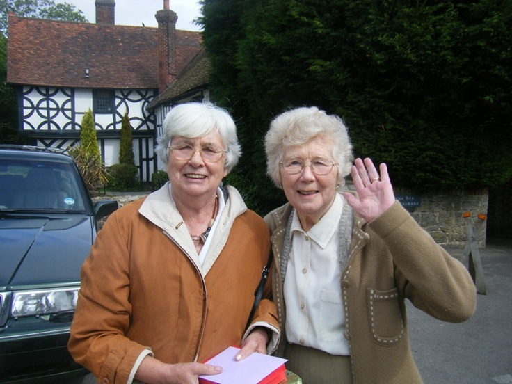 Madeleine and Brenda Ebel
