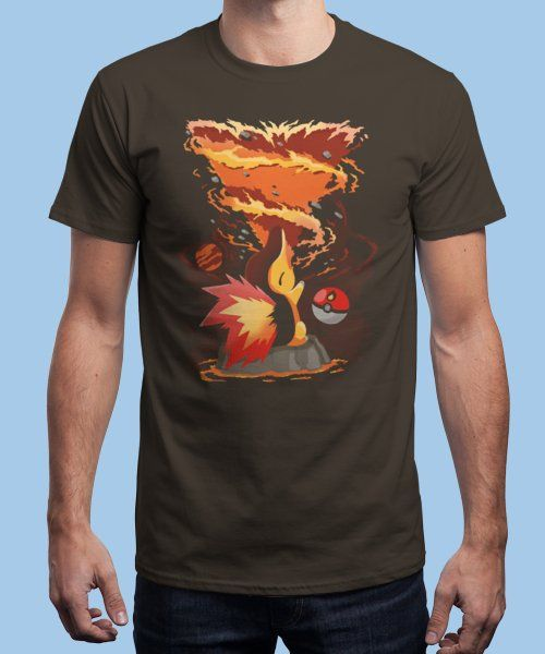 """""""Fire Storm"""" is today's £9/€11/$12 tee for 24 hours only on www.Qwertee.com Pin this for a chance to win a FREE TEE this weekend. Follow us on pinterest.com/qwertee for a second! Thanks:)"""