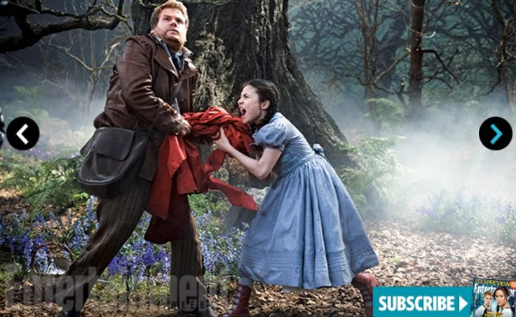 Entertainment Weekly Exclusive: Into the Woods with James Corden and Lila Crawford