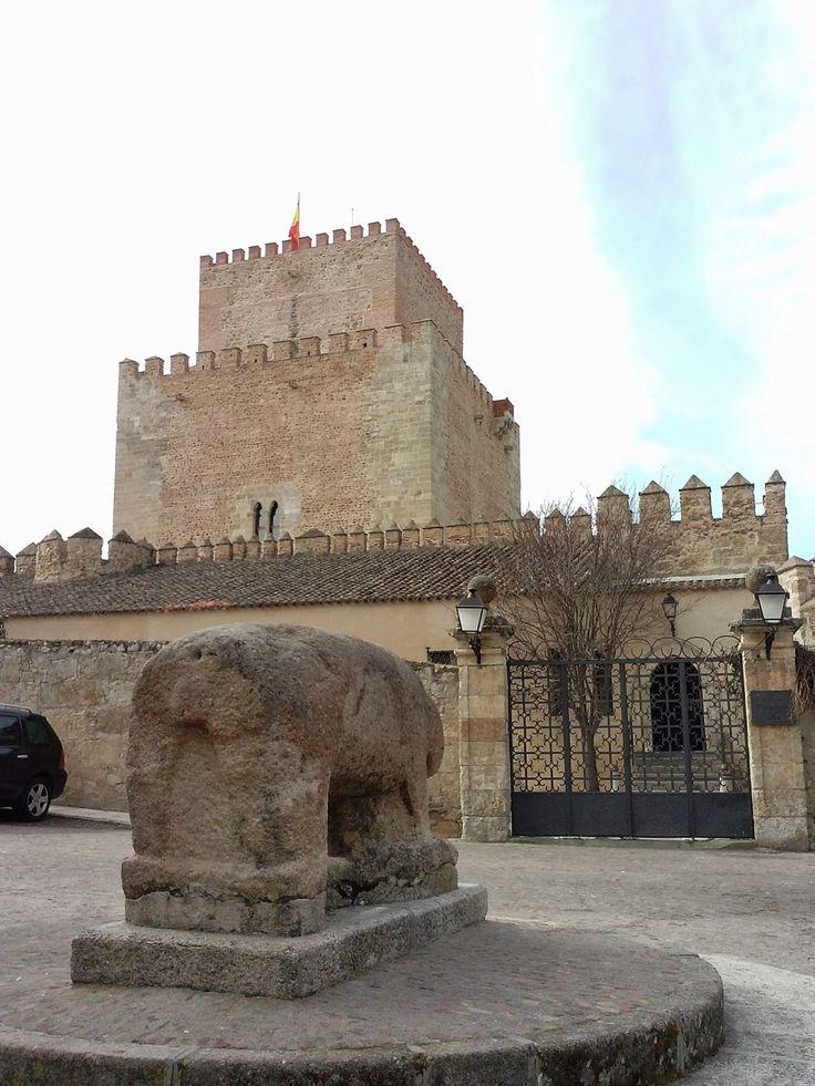 Alcázar de Enrique II de Trastámara (1372) Ciudad Rodrigo Salamanca España.