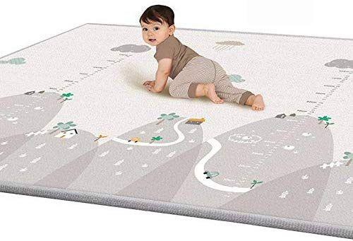 Bescita Kinder Spielmatte Faltbarer Truck Kindermatte Bunt Teppichmatte Kinder Puzzlematte Spielmatte 2 0x1 8m Spielmatte Puzzle Matte Kinderteppiche