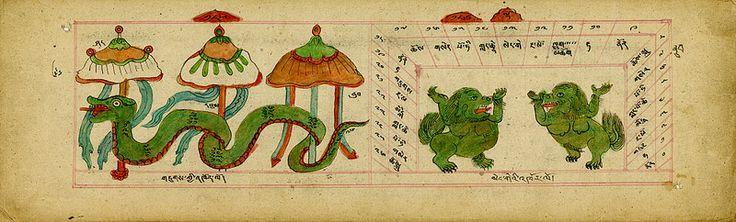 Un Manual de Mongolia de la astrología y la adivinación | La Revista Dominio Público