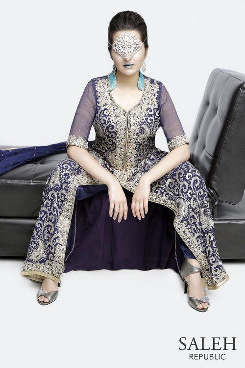 Saleh Republic! Be bold. Midnight - this dress is so pretty!!! Saw it on salehrepublic.com
