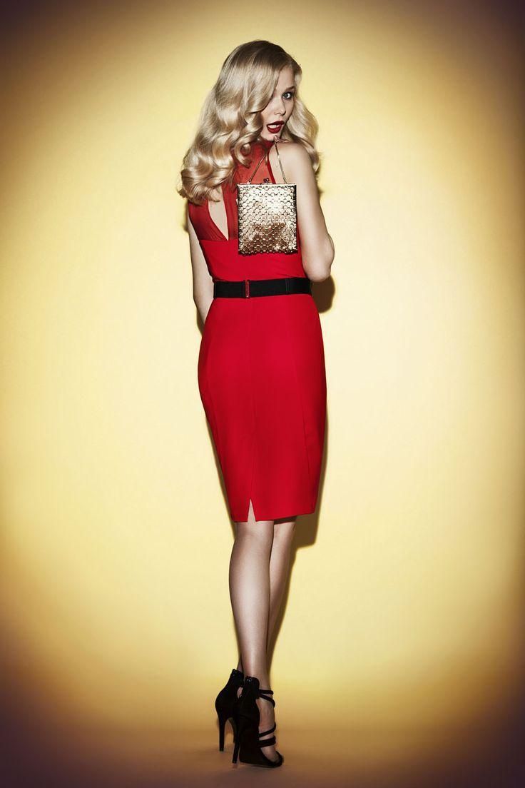 Red dress JO-LI