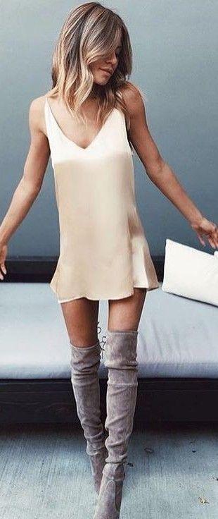 Little Silk Dress                                                                             Source