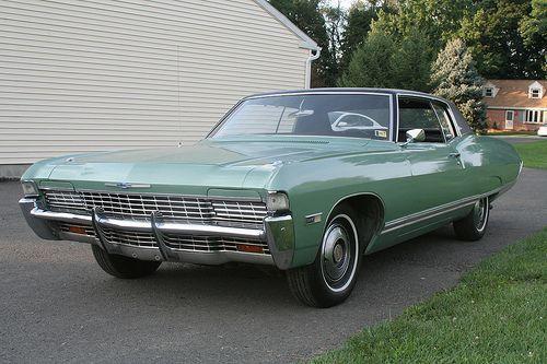 1968 Chevrolet Caprice Custom Coupe With Optional Hidden Headlights