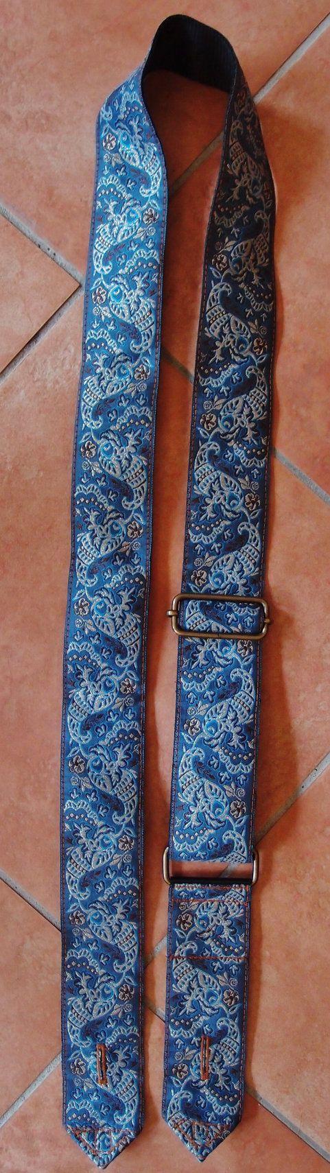 Tracolla per chitarra  Guitar strap made in Italy di EliCreates, €33.00