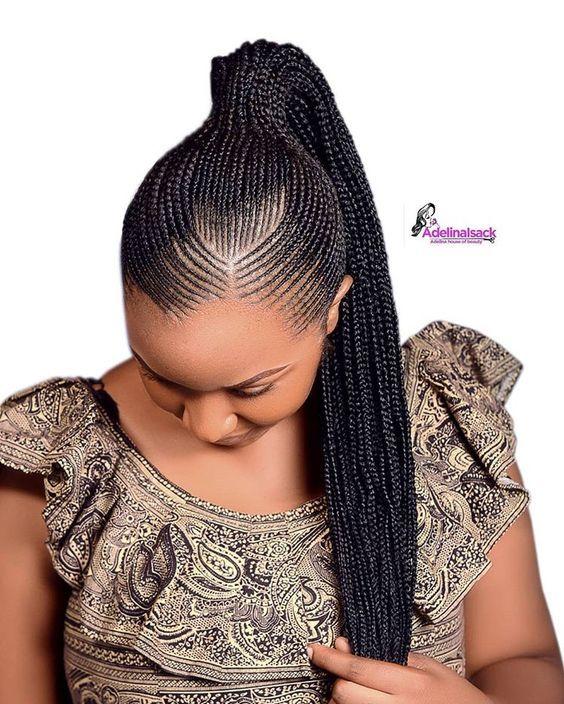 Ghana Weaving Styles 2019 20 Simple And Classy Ghana Weaving Hairstyle You Should Rock African Hair Braiding Styles African Hairstyles Hair Styles