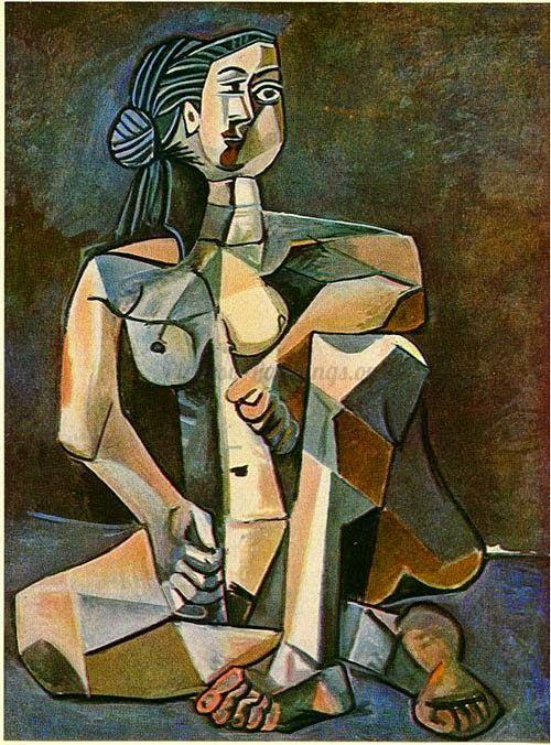 Καθιστή γυναίκα (1953)