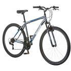 Mens 29 Inch Mountain Bike Blue Boys Aluminum Wheels Outdoor Fitness Gift Ride 6  UPC - 9559296269437