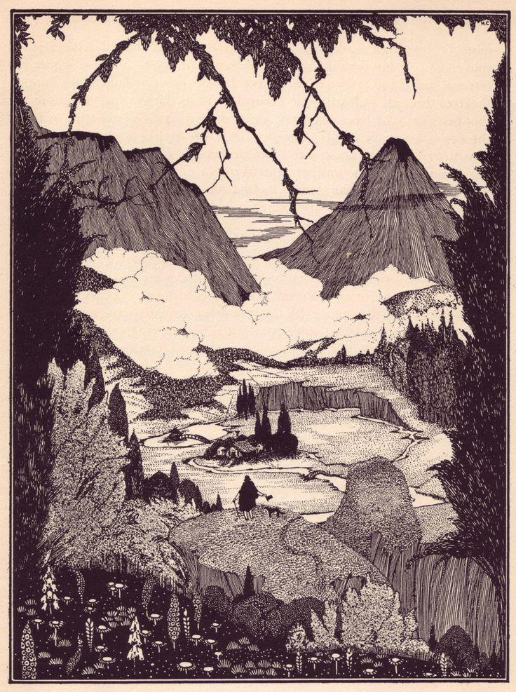 Les mystères d'Edgar Allan Poe superbement illustrés par Harry Clarke - La boite verte