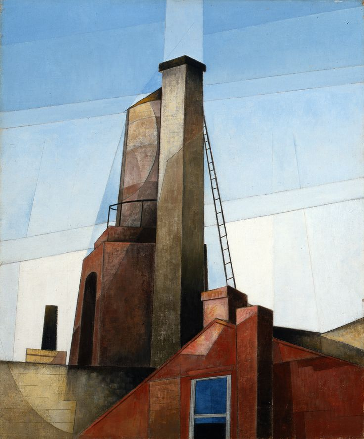 Charles Demuth, Oil on canvas, Aucassin and Nicolette