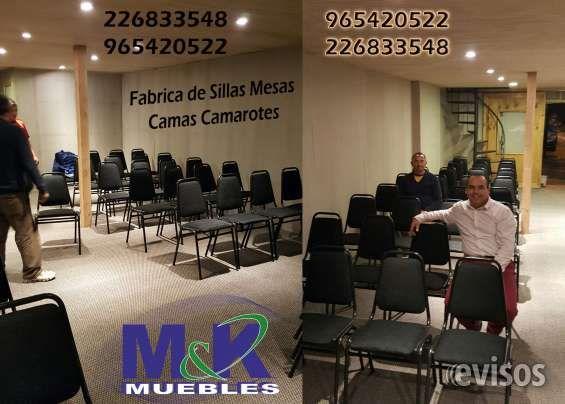 MUEBLES METALICOS SILLAS MESAS CAMAS CAMAROTES 226832151 FABRICA DE SILLAS APILABLES EN POLIPROPILENOAdemás d ..  http://cerrillos.evisos.cl/muebles-metalicos-sillas-mesas-camas-camarotes-226832151-id-634907