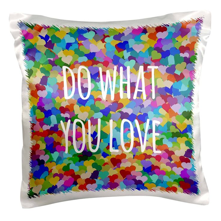 Well well well what do we have here. Hmmm, it is a colorfulpillow case…