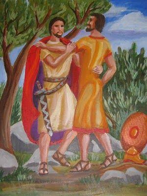 ¿Eran David y Jonatán amantes homosexuales?