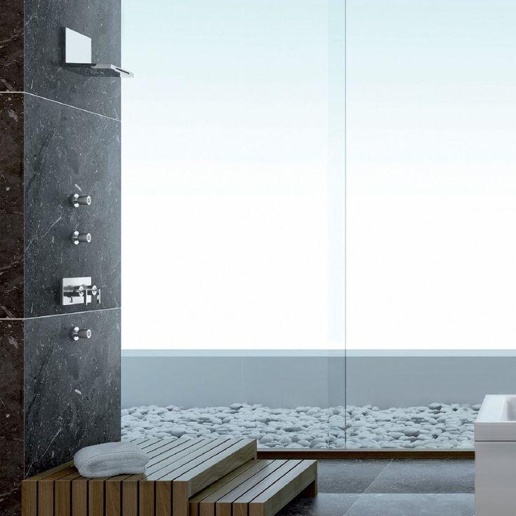Ritmonio Schwallazuslauf Waterblade | Design: Peter Jamieson | verschiedene Oberflächen wählbar