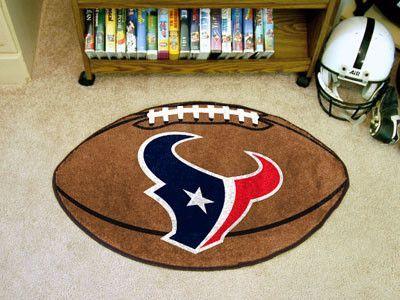 "Houston Texans Football Rug 20.5""x32.5"""