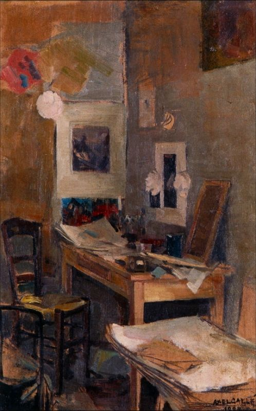 """My First Room in Paris"", Akseli Gallen-Kallela, 1884"