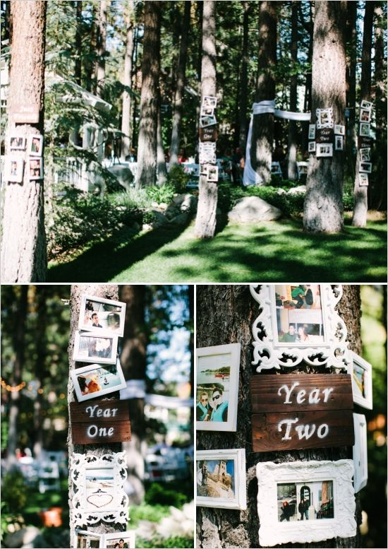 Basically i want exactly this. Romantic Woodland Big Bear Wedding for under $24,000|love story display ideas