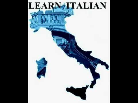 ~Learning Italian Lesson 1 - YouTube~  ( repinned from @Nancy Dooren )