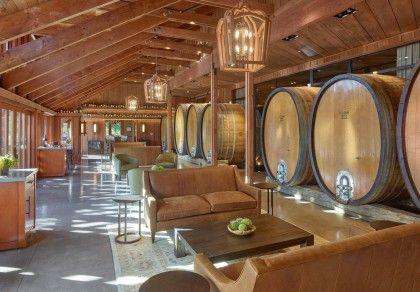 Винодельня Джозефа Фелпса в Калифорнии
