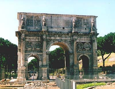 Arch of Constantine, Rome.